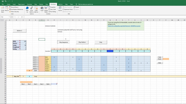「神エクセルどころじゃない」Excelでドラムマシンを作る猛者が現れ、世界中から反響