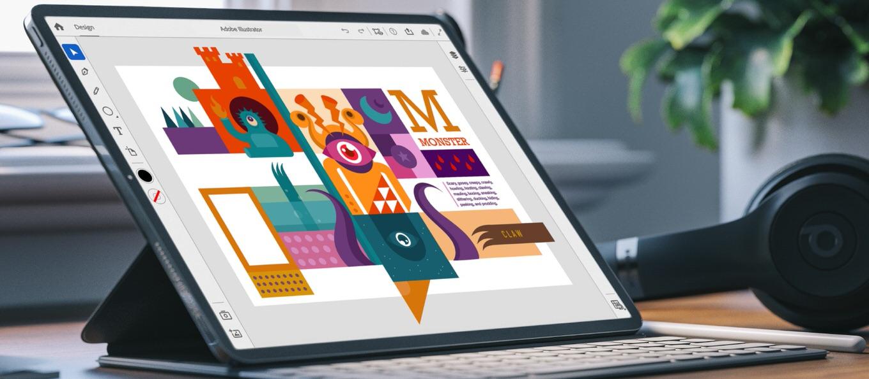 Adobe、iPad用「Illustrator」を発表――2020年にリリース予定