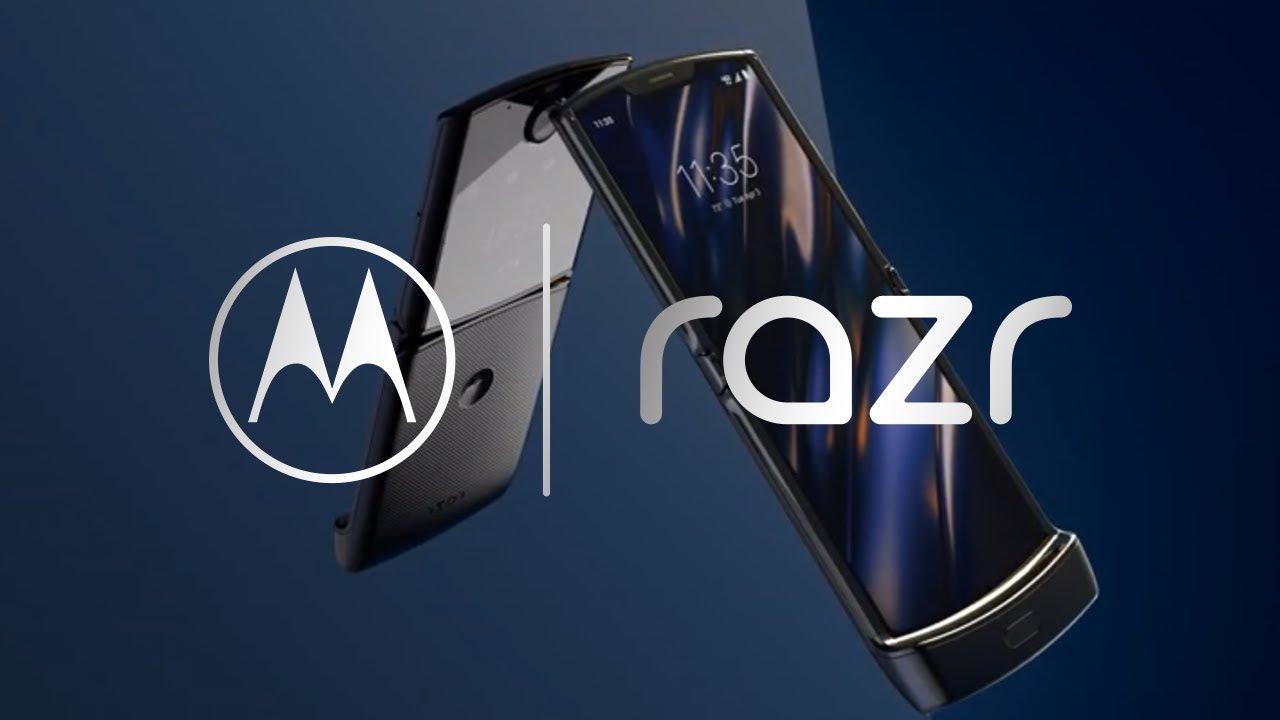 あの名機が再び Motorolaから折りたたみスマホ Razr が正式発表