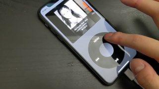 クリックホイールのカチカチまで再現、iPhoneで「iPod Classic」を再現したアプリが開発中