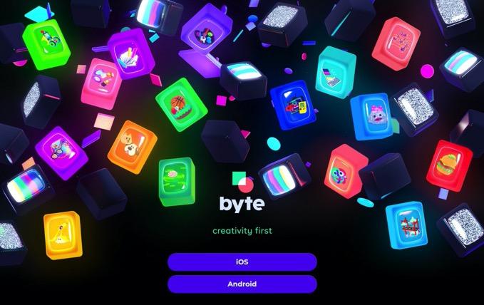 6秒ループ動画アプリ「Vine」の後継サービス「byte」が公開、クリエイター収益化プログラムも計画中