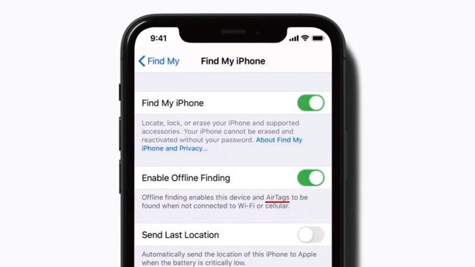 Apple、忘れ物防止タグ「AirTags」の存在を公式動画でポロリ