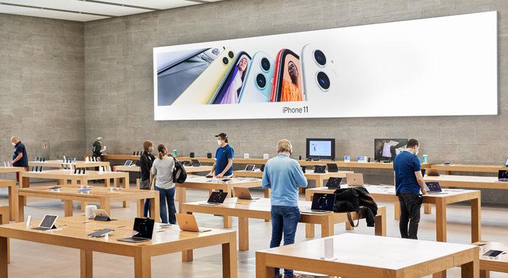 Apple、世界の約100店舗で営業再開 日本での再開時期は未定