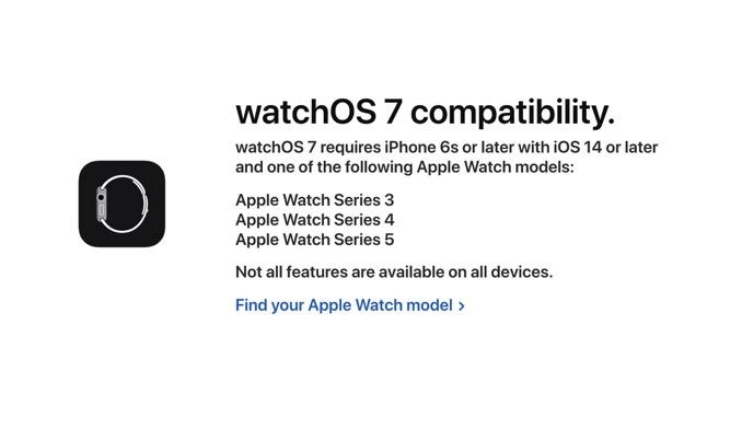 「watchOS 7」対応製品リストを公開、Apple Watch Series 1&2は切り捨て