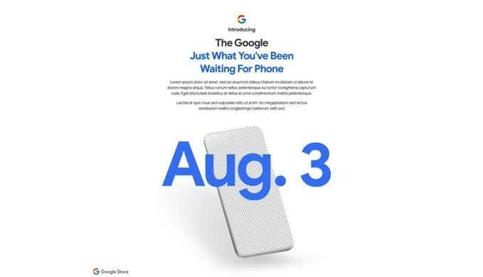 「Pixel 4a」8月4日に発表か、ティザーサイトが公開