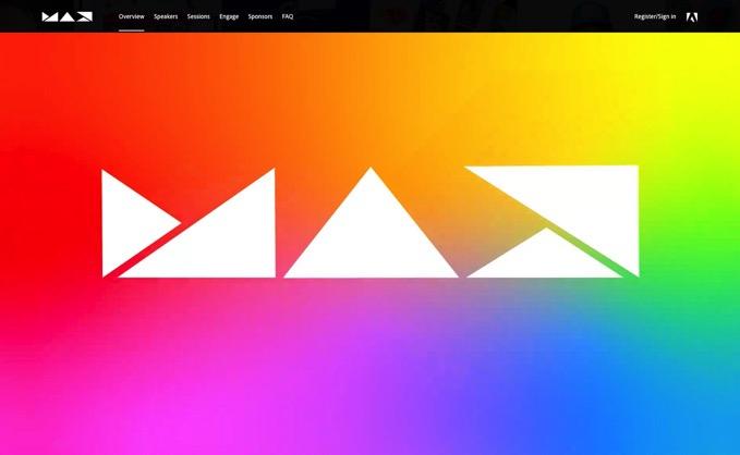 「Adobe MAX 2020」参加登録が正式オープン、完全無料でオンライン開催