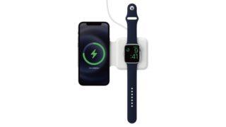 「MagSafeデュアル充電パッド」が発売、めちゃくちゃ高いけど旅行で便利そう