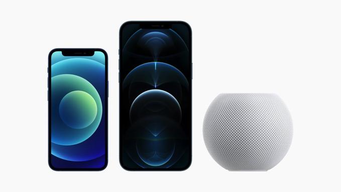 本日22時より「iPhone 12 mini/Pro Max」「HomePod mini」の予約開始