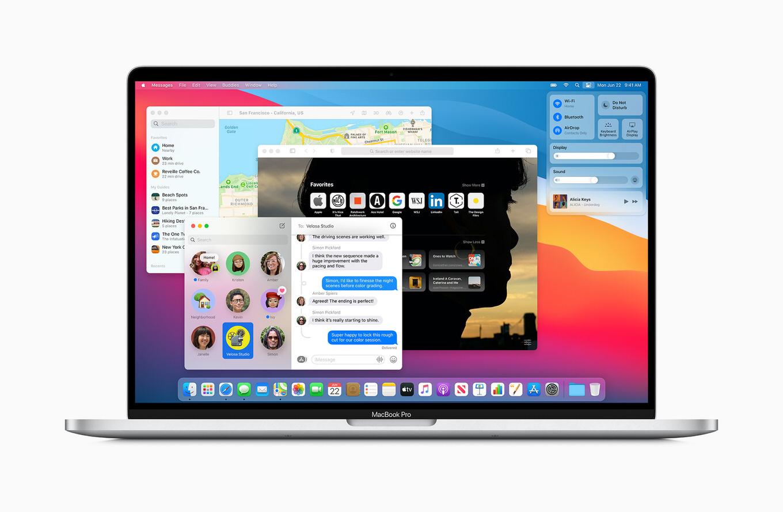 Appleシリコン「M1」登載の新型Mac3モデルを発表、macOS Big Surは11月12日にリリース