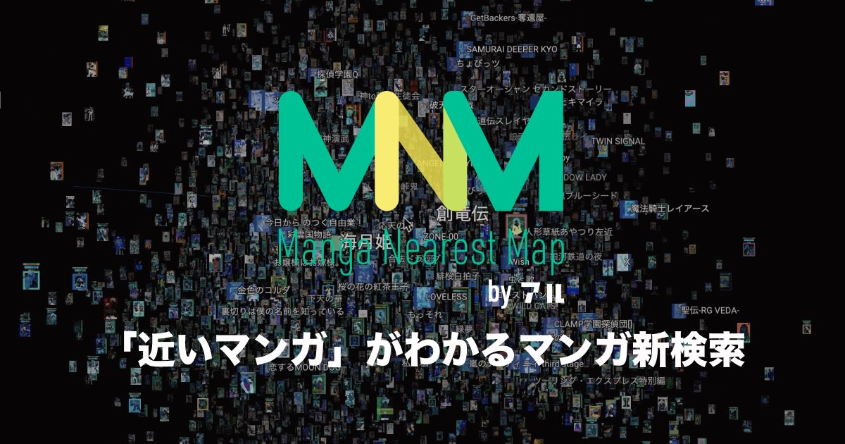 MangaNearestMap