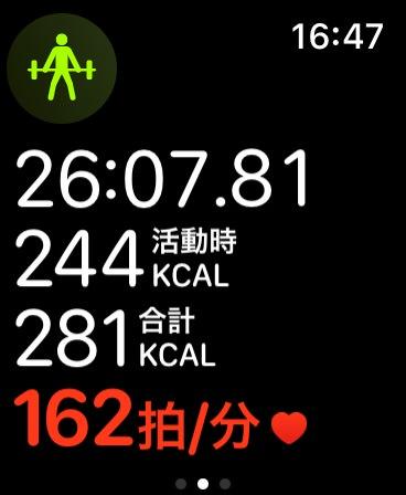 Apple watch diet 1