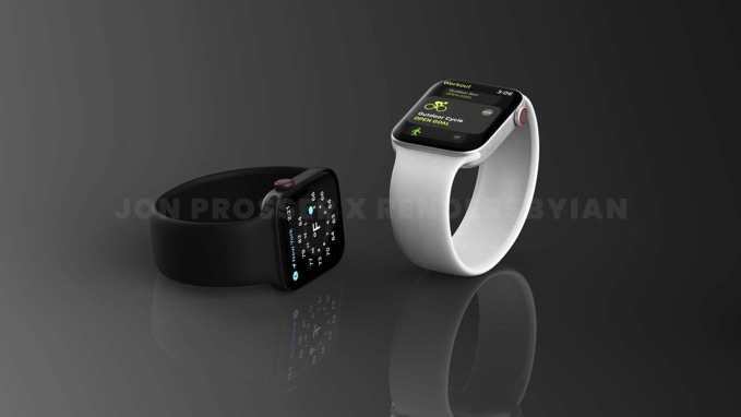 「Apple Watch Series 7」バッテリー容量が増加か、新色が追加されるとも