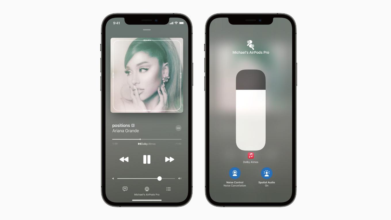 Apple Musicの「空間オーディオ」、ダイナミックヘッドトラッキングを今秋リリース