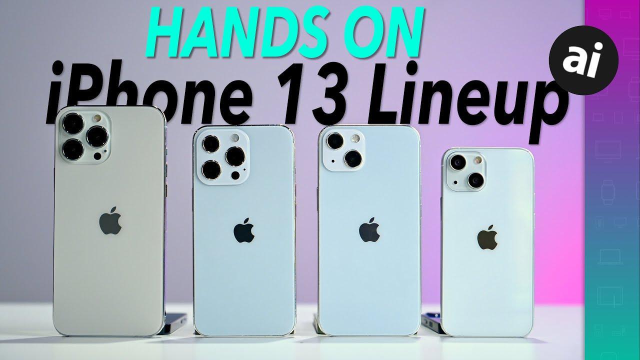 「iPhone 13」シリーズ(ダミー)と「iPhone 12」シリーズの比較動画が公開