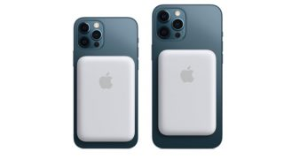 Appleが「MagSafeバッテリーパック」発売、双方向充電で使い勝手は◎