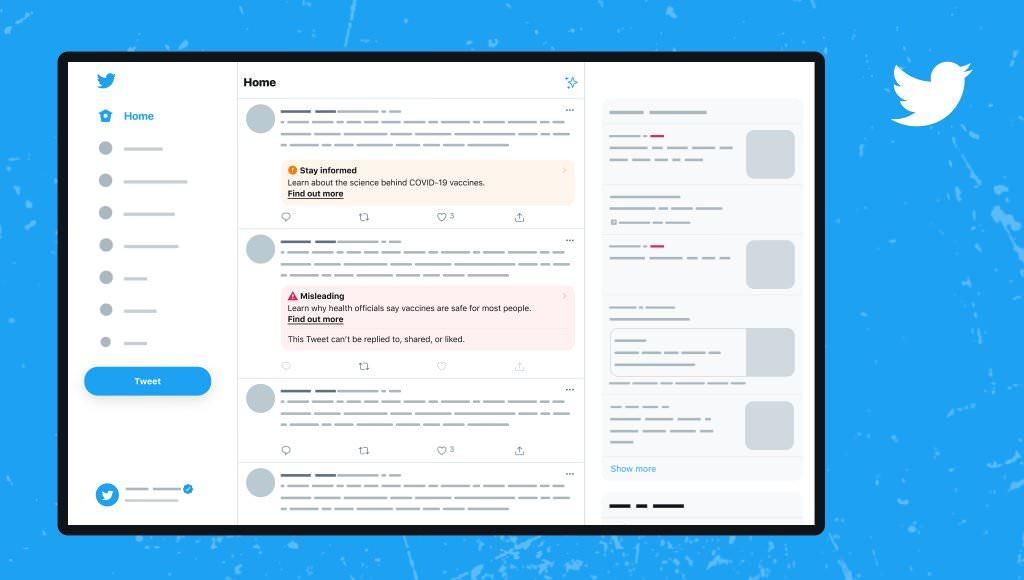 Twitter「誤解を招く情報」を含むツイートに新しいラベルをテスト